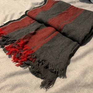J. Crew Men's wool-blend scarf